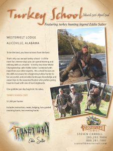 Wild Turkey Hunting School